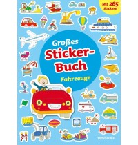Tessloff - Großes Stickerbuch Fahrzeuge