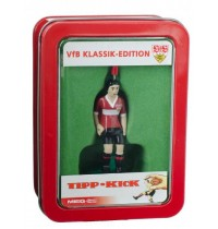 Tipp-Kick VfB Stuttgart Top-Kicker, rot in Metallbox - Lizenz Edition