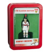 Tipp-Kick VfB Stuttgart Top-Kicker, weiss in Metallbox - Lizenz Edition