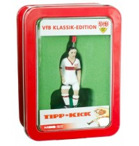 Tipp-Kick VfB Stuttgart Star-Kicker, weiß in Metallbox - Lizenz Edition