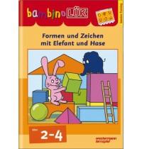 bambinoLÜK - Formen und Zeichen mit Elefant und Hase