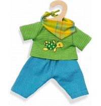 Heless - Fair Trade - Outfit Max, 28-35 cm