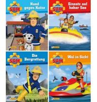 Nelson Verlag - Feuerwehrmann Sam - Mini-Bücher 5-8, Softcover