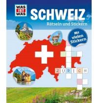 Tessloff - Was ist Was - Rätseln und Stickern - Schweiz