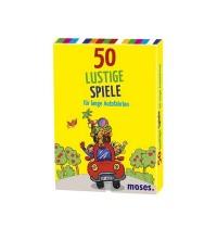 Moses - 50 lustige Spiele für lange Autofahrten