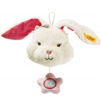 Steiff - Blossom Babies Hase Spieluhr, 11 cm