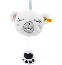 Steiff - Soft Cuddly Friends Iggy Eisbär Spieluhr, 13 cm