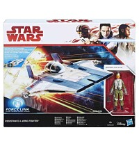 Hasbro - Star Wars™ Episode 8 Class B Forcelink Fahrzeuge mit 3.75&quot -  Figur