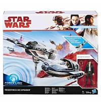 Hasbro - Star Wars™ Episode 8 Forcelink Ski Speeder mit 3.75&quot -  Poe Dameron Figur