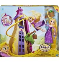Hasbro - Disney™ Rapunzel – Die Serie Rapunzels Haartastischer Abenteuer-Turm