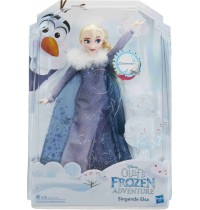 Hasbro - Die Eiskönigin - Olaf taut auf Singende Elsa