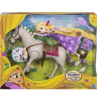 Hasbro - Disney™ Rapunzel – Die Serie Rapunzel & ihr Pferd Maximus