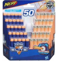 Hasbro - Nerf N-Strike Elite & AccuStrike 50er Dart Nachfüllpack (25 Elite/25 AccuStrike)