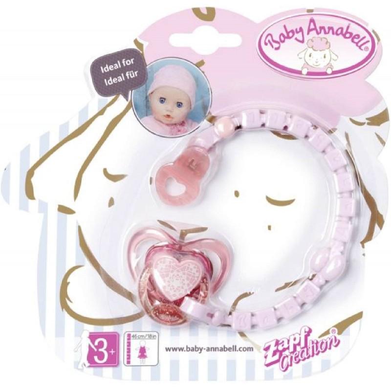 Zapf Creation Baby Annabell Schnuller Mit Clipbaby