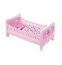 Zapf Creation - BABY born - Bett mit Kuschelbettzeug