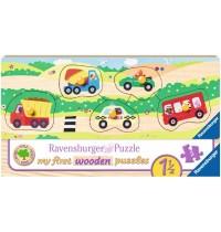Ravensburger Puzzle - Allererste Fahrzeuge