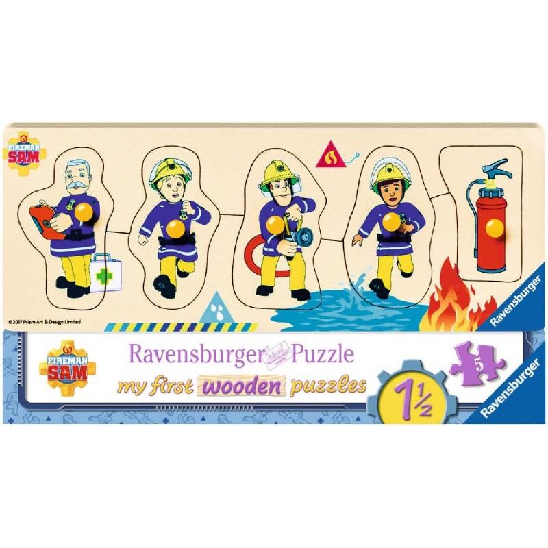 Ravensburger Puzzle - Feuerwehrmann Sam - Sam und seine ...
