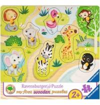 Ravensburger Puzzle - Unterwegs im Zoo
