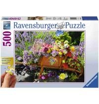 Ravensburger Puzzle - Blumenarrangement, 500 Teile