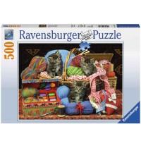 Ravensburger Puzzle - Flauschiges Vergnügen, 500 Teile