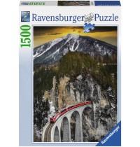 Ravensburger Puzzle - Winterliche Schlucht, 1500 Teile