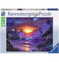 Ravensburger Puzzle - Sonnenaufgang im Paradies, 1500 Teile