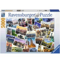 Ravensburger Puzzle - New York - the City never sleeps, 5000 Teile