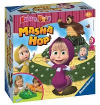 Ravensburger Spiel - Masha und der Bär - Masha Hop