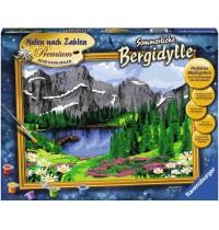 Ravensburger Spiel - Malen nach Zahlen - Sommerliche Bergidylle