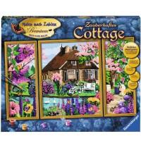 Ravensburger Spiel - Malen nach Zahlen - Zauberhaftes Cottage