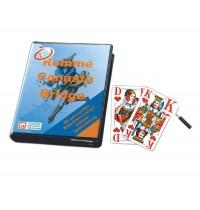 Nürnberger Spielkarten - Doppelrommé eXtra cLassic, französisches Bild im Folienetui