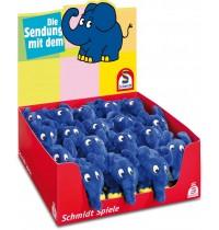 Schmidt Spiele Plüsch - Die Sendung mit dem Elefanten - Elefant, 12cm Display