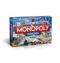 Winning Moves - Monopoly Städte Edition München