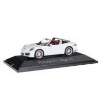 Herpa - Porsche 911 Targa 4S, weiß