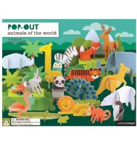 Petit Collage - Deluxe Pop Out Tiere