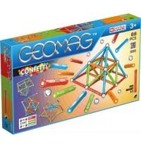 Geomag - Classic - Confetti 88 pcs