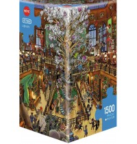 Heye - Triangularpuzzle - Library Triangular, 1500 Teile