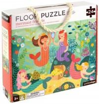 Petit Collage - Floor Puzzle Meerjungfrauen 24 Teile