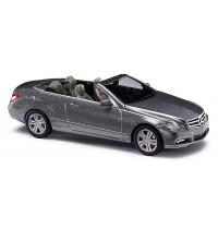 Busch Automodell - MB E-Klasse Cabriolet CMD, Silber DISP