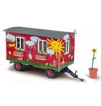 Busch Modellbahnzubehör - Anhänger - Gartenwagen