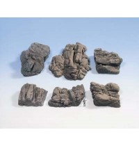 Noch - Struktur-Felsstücke Sandstein