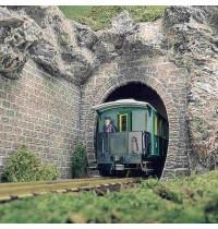 Busch Modellbahnzubehör - Zwei Tunnelportale