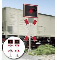 Busch Modellbahnzubehör - Warnblinkanlage