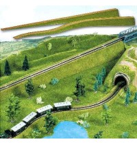 Busch Modellbahnzubehör - Zwei flexible Auffahrten