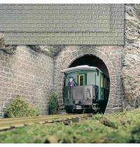 Busch Modellbahnzubehör - 2 Mauerplatten