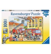 Ravensburger Puzzle - Unsere Feuerwehr, 100 Teile