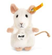 Steiff - Kuscheltiere - Haus- & Hoftiere - Pilla Maus, weiß, 10cm