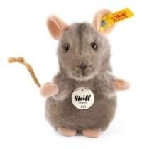 Steiff - Kuscheltiere - Haus- & Hoftiere - Piff Maus, grau, 10cm