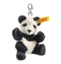 Steiff - Steiffs Minis - Schlüsselanhänger - Panda, schwarz/weiß, 9cm