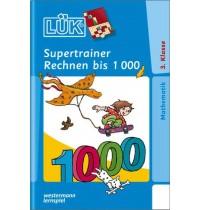 LÜK Supertrainer - Rechnen bis 1000